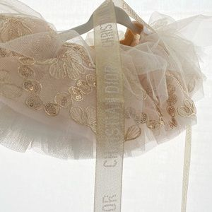 Infant tutu with Christian Dior ribbon